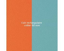 Cuir collier Les Georgettes - Lilium/Nimbus 60 mm
