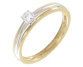 Bague solitaire or diamant(s) Stepec - afrdBUSX dt Io