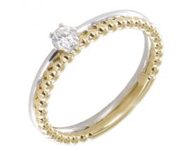Bague or & diamant(s) - AGRD5037 DT BI