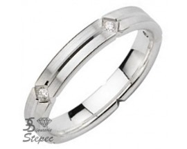 Alliance or & diamant(s) Pfertzel - 3805055