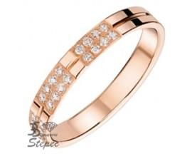 Alliance or & diamant(s) Pfertzel - 3810324