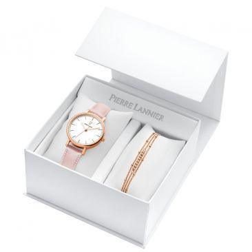Coffret femme montre et bijou Pierre Lannier - 395C905