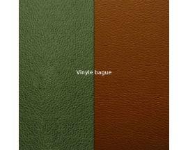 Vinyle bague Les Gerogettes FOR MEN - Vert canard/Camel