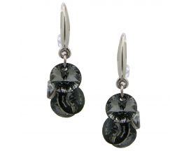 Boucles d'oreilles pendants argent Indicolite - BOCR-HELEN-SINI