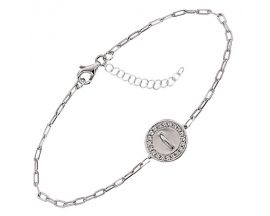 Bracelet argent et oxydes Jourdan - ATW662