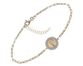 Bracelet argent et oxydes Jourdan - ATW663