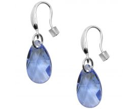 Boucles d'oreilles pendants argent Indicolite - BOCR-LARM-211