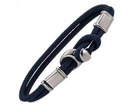 Bracelet acier & cordon Jourdan - FZ289BEH
