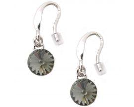Boucles d'oreilles pendants argent Indicolite - BOCR-EMI-SINI
