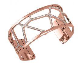 Bracelet manchette Les Georgettes - Girafe Précieuses rosé 25 mm