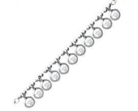 Bracelet argent oxydes Stepec - TSBETUBT