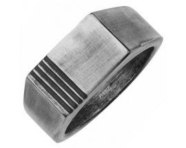 Chevalière acier Phébus - 15-0308