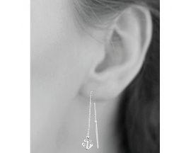 Boucles d'oreilles pendants argent Stepec - SUJXPPP