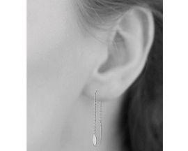 Boucles d'oreilles pendants argent Stepec - SUOUEPP