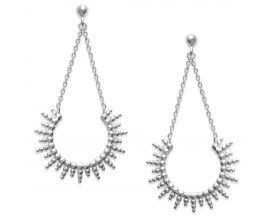 Boucles d'oreilles pendants argent Stepec - SUUIIPP