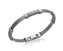 Bracelet homme acier Stepec - JBPTTEXX