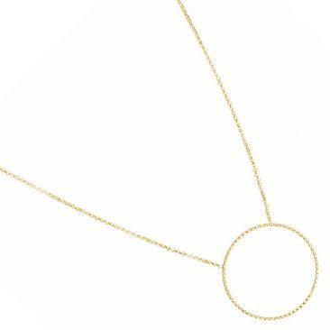 Collier argent doré Orus - CA002GOLD