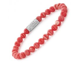 Bracelet perles Rebel & Rose Coral Beach 6 mm - RR-60027-S