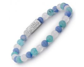 Bracelet perles Rebel & Blue Summer Vibes 6 mm - RR-60037-S