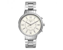 Montre femme connectée hybride Fossil Q Virginia - FTW5009