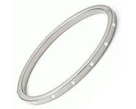 Bracelet rigide acier empierré Fossil - JF00841040