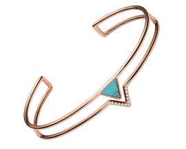 Bracelet rigide acier Fossil - JF02643791