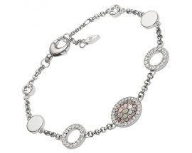 Bracelet acier empierré Fossil - JF02311040