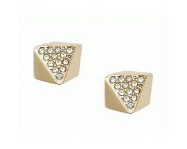 Boucles d'oreilles boutons acier Fossil - JF01992710