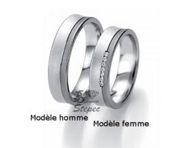 Alliance or diamant(s) Black and White Breuning - 48/06305