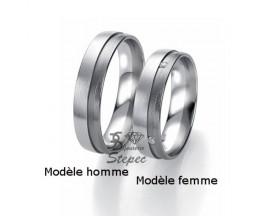 Alliance or diamant(s) Black and White Breuning - 48/06307