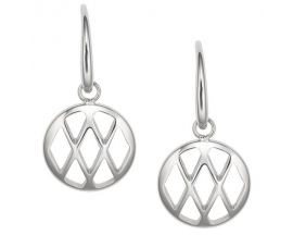 Boucles d'oreilles pendants acier Fossil - JF02722040
