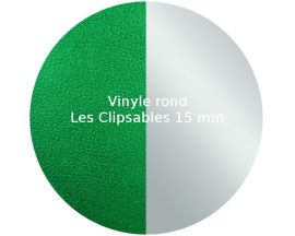 Vinyle jeton Les Clipsables Les Georgettes - Vert/Gris