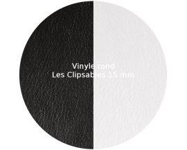 Vinyle jeton Les Clipsables Les Georgettes - Noir/Blanc