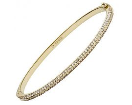 Bracelet jonc acier Fossil - JF02119710