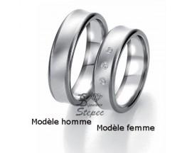 Alliance or diamant(s) Black and White Breuning - 48/06315