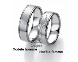 Alliance or diamant(s) Black and White Breuning - 48/06319