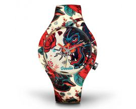 Montre Mixte Tattoo Dragon Doodle - DOTA001