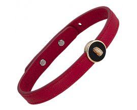 Bracelet argent doré cuir Jourdan - ATW017
