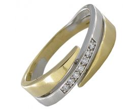 Bague or diamant(s) Clozeau - H340DJG