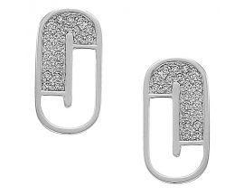 Boucles d'oreilles argent oxydes Jourdan - AMK001