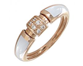 Bague or diamant(s) Clozeau - F662DBR