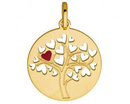Médaille arbre de vie or Stepec - aPUSBT