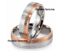 Alliance platine or & diamant(s) Breuning - 48/09021-0