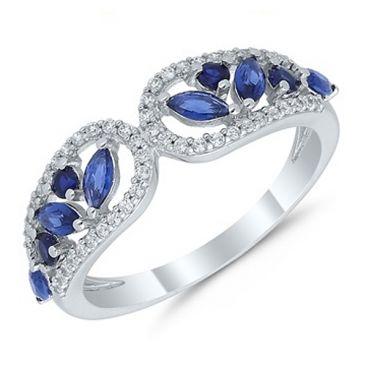 Bague or saphir et diamant(s) Stepec - agrlBEBOg Sa og
