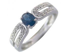 Bague or saphir(s) et diamant(s) Stepec - WrlBBUg Sa og
