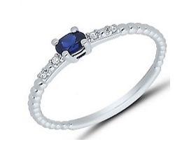 Bague or saphir(s) et diamant(s) Stepec - agrlBSPT.PIg Sa og