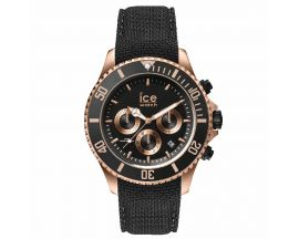 Montre Ice steel Black Rose Gold Large (48mm) Ice-Watch - 016305