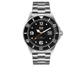 Montre Ice steel Black silver Large (48mm) Ice-Watch - 016032
