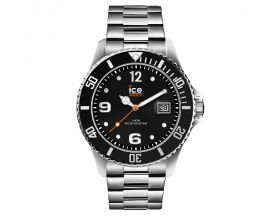 Montre Ice steel Black silver Medium (43mm) Ice-Watch - 016031