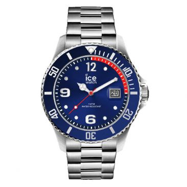Montre Ice steel Blue silver Medium (43mm) Ice-Watch - 015771